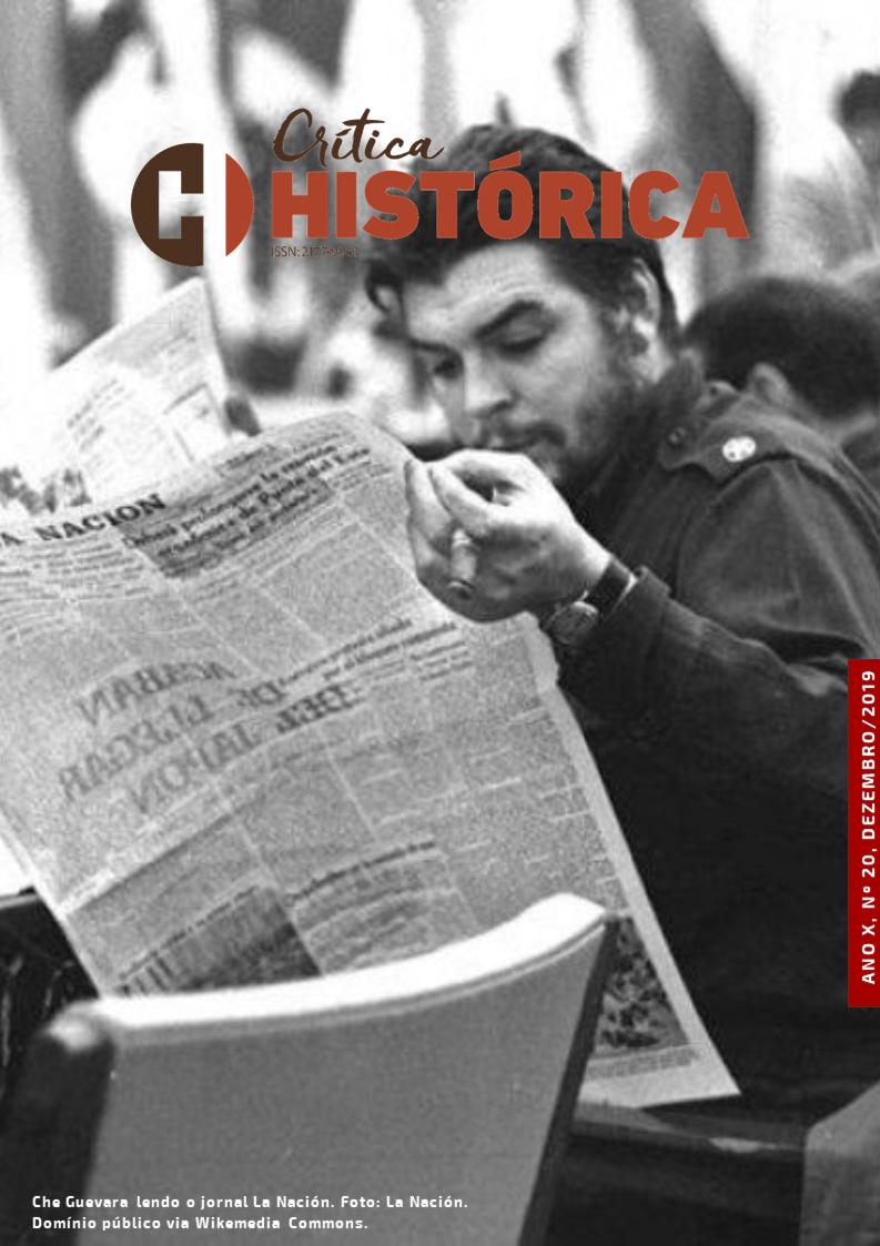 Che Guevara lendo o jornal La Nación
